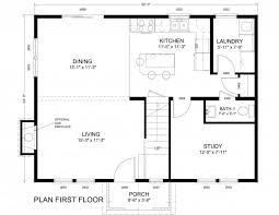 floor plans open concept dundee lodge log homes cabins house plan