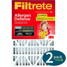 Filtrete Healthy Living Ultra Allergen Reduction Ac Furnace Air 3m Filtrete Mpr 1000 4 Inch Micro Allergen Defense Air Filters