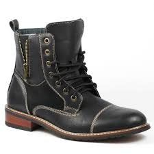 black lace up motorcycle boots amazon com ferro aldo mfa 808561 dark brown mens lace up