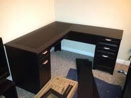 V Shaped Desk V Shaped Computer Desk Medium Size Of Office Corner L Shape Ikea