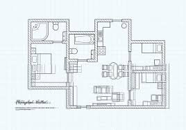 free floor plan free floorplan of a house vector free vector stock