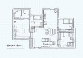 free floorplan free floorplan of a house vector download free vector art stock