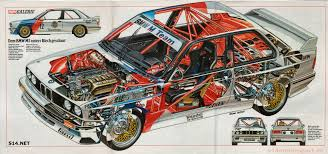 wrecked car drawing the best car cut aways cutaway bmw m3 and bmw