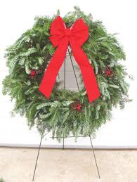 wreath fundraiser program