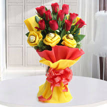 flowers and chocolate chocolates and flower bouquets flowers with chocolates online