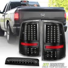 2015 dodge ram 1500 tail light bulb replacement black 2009 2018 dodge ram 1500 full led tail lights led 3rd brake