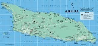 Map Of The Caribbean Islands by Aruba Map From Caribbean On Line