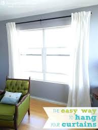 best way to hang curtains curtain inspiration curtain hanging ideas creative ways to hang