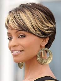 pictures of blonde highlights on natural hair n african american women popular black hair blonde highlights buy cheap black hair blonde