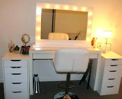 Makeup Mirror Vanity Dresser Table Lighted With Create A House Desk