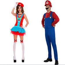 Super Mario Halloween Costume Super Mario Brothers Masquerade Halloween Cloth Cosplay Men