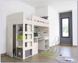 bunk bed with desk underneath south africa bedroom home