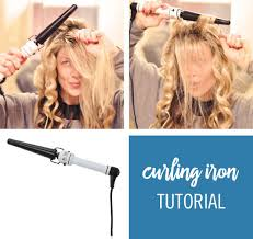 curling irons that won t damage hair hair tutorial how to get soft pretty waves using a tapered curling iron