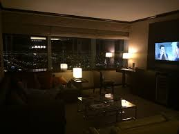 the 2 bedroom hospitality suite at vdara bobbuskirk com also for those who are concerned about getting work done the internet is free while the wifi is alright if you plug into the hardline in the room the