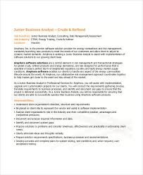 business analysis resume 22 business resume templates free word pdf documents download