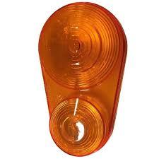 tail light lens assembly kubota k2581 62640 set of 2 amber tail light lens assembly bx series