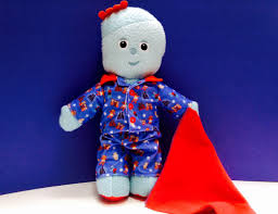 night garden iggle piggle pajamas soft toy