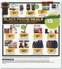 kohl s black friday 2017 ad scan