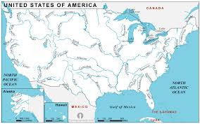 america map with rivers usa rivers map rivers map of usa rivers usa map united