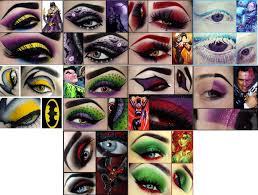 make up eyes costumes costume make up comics comic books dc