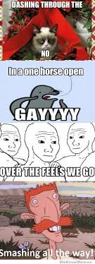 Gay Horse Meme - meme christmas song weknowmemes