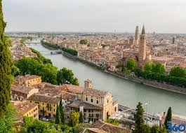 Map Of Verona Italy by Verona Italy