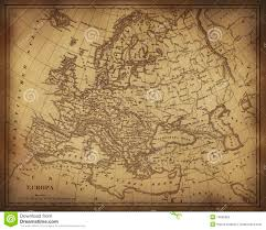 Blank Map Of Europe 1914 Printable by Ancient Map Of Europe Stock Photos Image 14025063