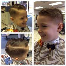 boys haircut with sides little boys haircut 1 on the side faded into a razored side part