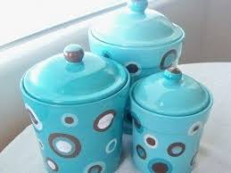 teal kitchen canisters ceramic kitchen canisters sets foter