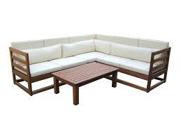 canapé d angle bois canape d angle de jardin maison design wiblia com