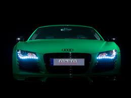 Audi R8 Front - 2009 mtm audi r8 in porsche green front 2 1280x960 wallpaper
