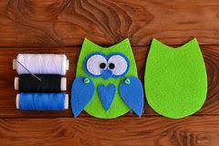 felt owl embellishment felt owl how to make a pretty felt