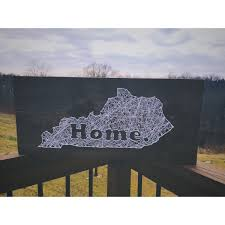 Home Decor Louisville Ky String Art State String Art String Art Heart String Art