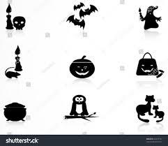 halloween icons stock vector 62477737 shutterstock