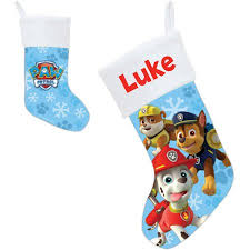 personalized paw patrol puptacular christmas stocking walmart