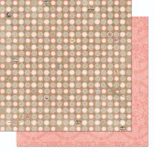 bo bunny the avenues collection 12 x12 sided paper dot