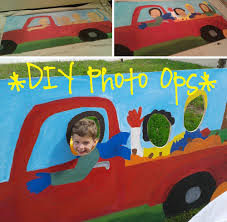 diy photo ops using plywood u0026 simple stand campclem creative