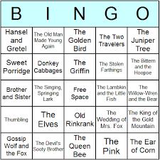 grimms u0027 fairy tales bingo cards printable bingo activity game
