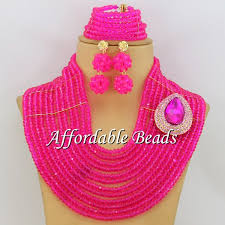 Costume Jewelry Unique Beaded Design Purple Indian Jewelry Set Wedding Popular African Costume Jewelry