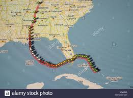 Weather Florida Map by Hurricane Weather Map Of A Level 5 Storm As Viewed On The Internet