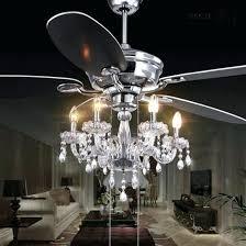 ceiling fan and chandelier ceiling fan chandelier combo crystal motor1usa com