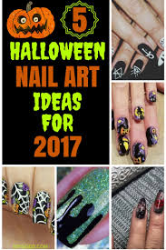 5 halloween nail art ideas for 2017 u2013 learn your way to awesome