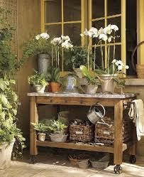 Plant Bench Plans - woodwork plans and projects sunset potting bench plans wooden plans
