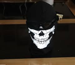 call of duty ghost logan mask merrick ghost balaclava ski mask hood call of duty modern