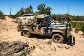 land rover australian army land rover defender 110 on a mission to spread awareness for