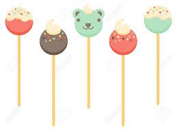 various cake pop designs including a teddy bear cake pop royalty