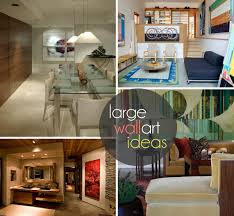 How To Decorate Tall Walls by Large Wall Art Ideas 10 Creative Designs For Modern Interiors