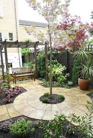 backyard small patio gardens amazing trees for backyard beautiful