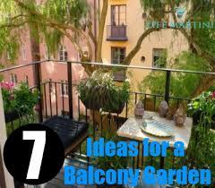 Garden In Balcony Ideas Simple Ideas For A Balcony Garden How To Create A Beautiful