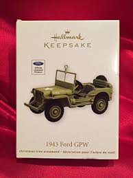 qxi2074 1943 ford gpw army jeep 2012 hallmark keepsake